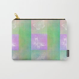 Whoever hears laughing butterflies... Carry-All Pouch