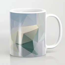 Mint / Poster, Art Prints, Deco, Scandinavian Images, Geometric, Pastel Poster, Mountains, Minimalis Coffee Mug