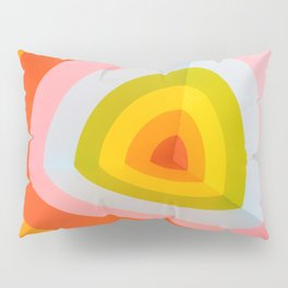 Multi Colour Corner Wall Art Pillow Sham