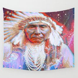 Crazy Horse Wall Tapestry