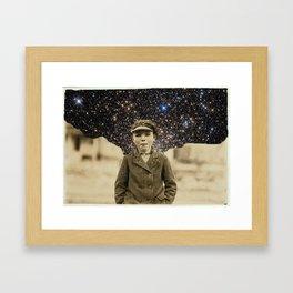 """Space Blurs"" Framed Art Print"