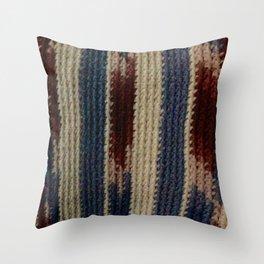 Grandma Viv blanket Throw Pillow