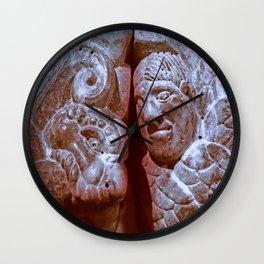 Romanesque lovers IX Wall Clock