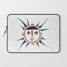Elments-Fire/Sun Laptop Sleeve