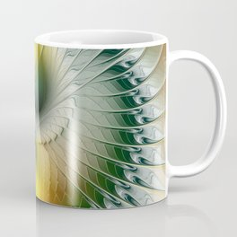 Like Yin and Yang, Abstract Fractal Art Coffee Mug