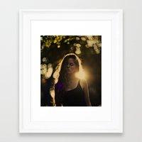 daria Framed Art Prints featuring daria by MartaSyrko