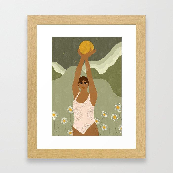 I Have The Sun Framed Art Print