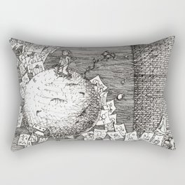 I'll reach you someday Rectangular Pillow