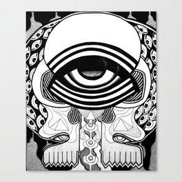 billion eyes Canvas Print