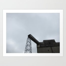 Broken Factory Art Print