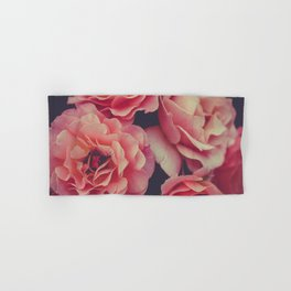 Roses in the night garden Hand & Bath Towel