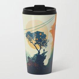 Orange Tree Travel Mug