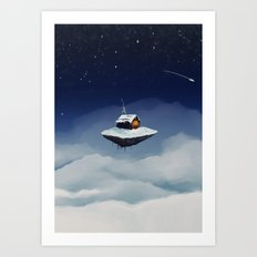 Isolated Art Print