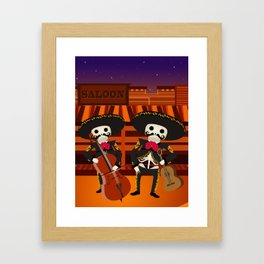Mexico Mariachi Framed Art Print