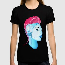 Cyber chick 001 T-shirt