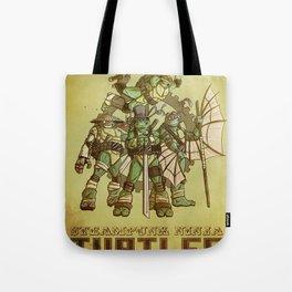 Steampunk Ninja Turtles Tote Bag