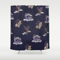 hawaii Shower Curtains featuring hawaii by ulas okuyucu