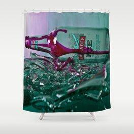 Hair Dye on Ice Shower Curtain