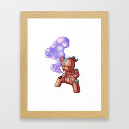TattedTeddy 2 Framed Art Print