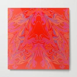 swirling heat 3 Metal Print