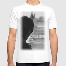 haydarpasa White Mens Fitted Tee SMALL