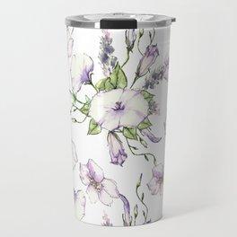 Convolvulus Morning Glory Floral Delight Travel Mug