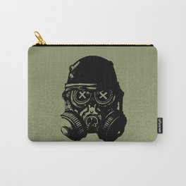 Gas mask skull Carry-All Pouch