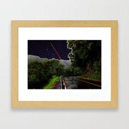 Stars on the Road to Hana Framed Art Print