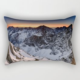 Origin of pure Nature Rectangular Pillow