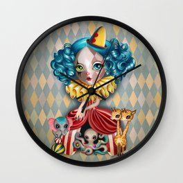Penelope's Imaginarium Wall Clock