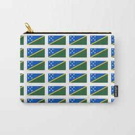 flag of Salomon -Salomon,salomon islander,santa isabel,nggela,malaita,honiara,guadalcanal Carry-All Pouch