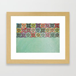 Wood Border 1 Framed Art Print