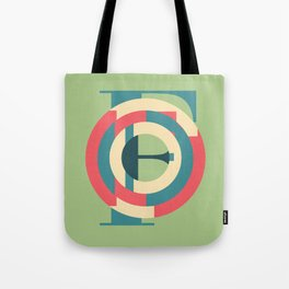 Typography series #F Tote Bag