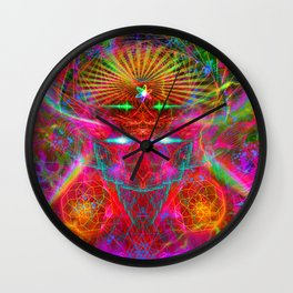A Spirit Birthed From My Mind Wall Clock