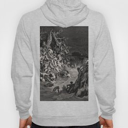 World Destroyed by Water Gustave Dore, 1866 Hoody