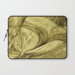 Flying threads of gold Laptop Sleeve