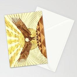 Eagle Man Stationery Cards