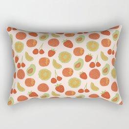 Summer Farmers Market Print Rectangular Pillow