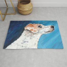 Jack Russell Terrier 2 Rug