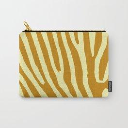 Chocolat Zebra Carry-All Pouch