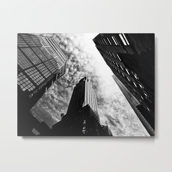 Metropolis - New York City Metal Print