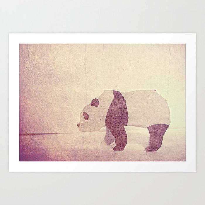 Sweet Candy Bear Art Print