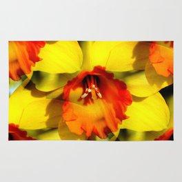 Daffodil - Orange Trumpet Rug