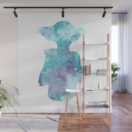 Dobby Watercolor Silhouette Wall Mural