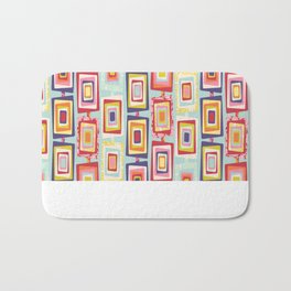 Window Boxed Bath Mat