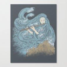 Ocean Symphony Canvas Print