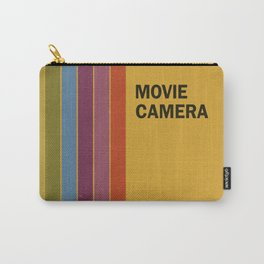 Retro Movie Camera Color Palette Carry-All Pouch