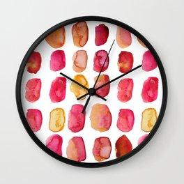Rose Petals Wall Clock
