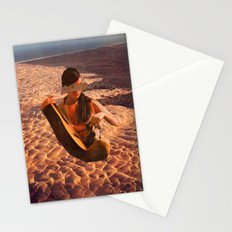 Sand Woman Stationery Cards