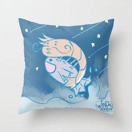 fishrimp Throw Pillow